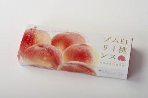 白桃ムースプリン